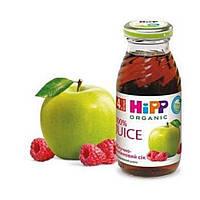 Сок детский яблочно-малиновый 4м+ 200мл Hipp Германия 8014