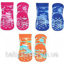 Шкарпетки махрові для повзання антиковзні (3 пари) BabyOno 586/01