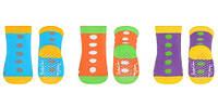 Носки махровые антискользящие (3 пары) 6+ BabyOno 582/01, фото 1