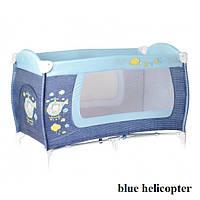 Манеж Lorelli DANNY 1L (blue helicopter)