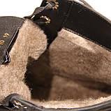 Женские зимние ботинки в натуральном нубуке, фото 2