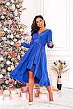Женское красивое платье на выход трикотаж+люрекс размер: 48-50, 52-54, фото 2