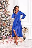 Женское красивое платье на выход трикотаж+люрекс размер: 48-50, 52-54, фото 8