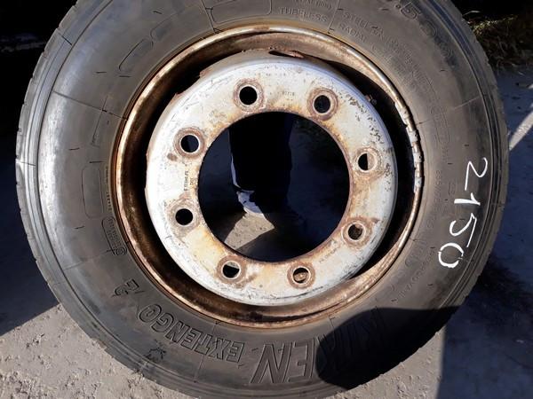 Диск бу 6.75 r17.5 для 235.75.17,5 производство Michelin Мишлен