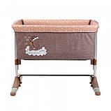 Кроватка Lorelli SLEEP'N'CARE (beige elephant), фото 3