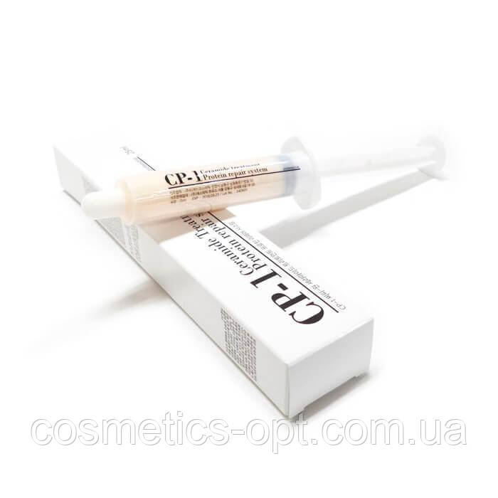 Несмываемая сыворотка для секущихся кончиков Esthetic House CP-1 Premium Silk Ampoule, шприц 25 ml