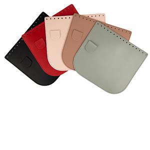 Крышки (клапаны) для сумок из эко кожи