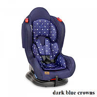 Автокресло Lorelli JUPITER+SPS (0-25кг) (dark blue crowns)