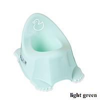Горшок антискольз. муз. Tega Duck PO-070 light green