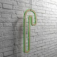"""Светодиодная подвесная фигура """"Волшебная палочка"""" h=710 мм. Светящаяся led-игрушка из фанеры."""
