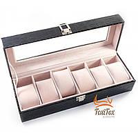 Коробка для наручных часов на 6 отделений, фото 1
