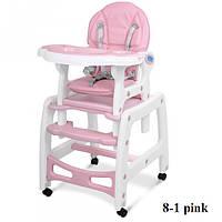 Стульчик для кормления Bambi M 1563-8-1 (pink), фото 1