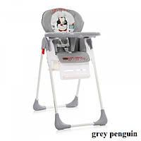 Стульчик для кормления Lorelli TUTTI FRUTTI (grey penguin), фото 1