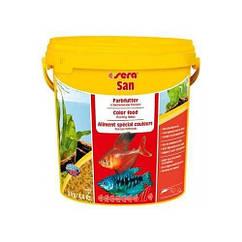 Sera San корм для улучшения цвета всех декоративных рыб (хлопья), 10000 мл
