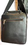 Мужские черные барсетки 3 в 1, в комплекте 3 барсетки разных размеров (20*23; 18*22; 12*16), фото 6