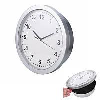 Настінні годинники з тайником сейфом 25х7см Safe Clock