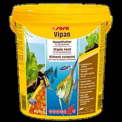Sera Vipan Large Flakes корм универсальный, большие хлопья, 20000 мл