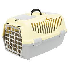 Переноска Trixie Capri 2 для собак и кошек, 37х34х55 см жёлтая (39825)