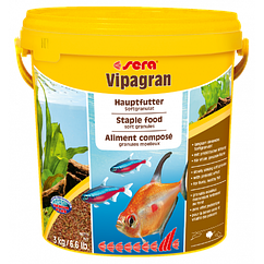 Sera Vipagran корм для всех аквариунмых рыб в гранулах, 10000 мл