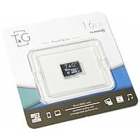 Карта памяти T&G microSDHC 16GB Class 10 UHS-I U1 (TG-16GBSD10U1-00)