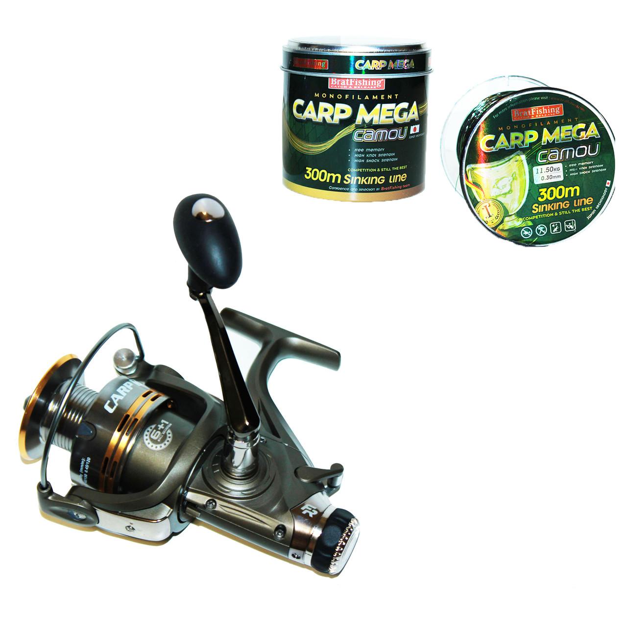 Катушка Fishing ROI Carp XT 5000(6+1) с бейтраннером
