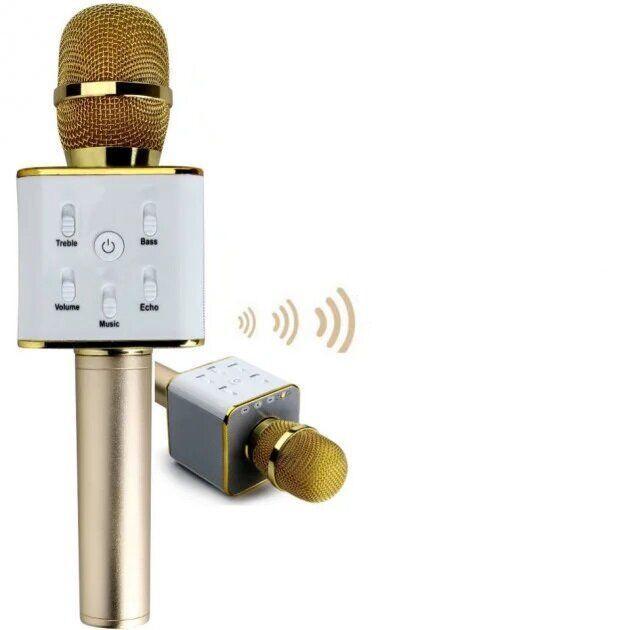 Микрофон Q7 gold