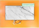 Керамічний обігрівач TEPLOCERAMIC ТСМ 450 білий мармур (49713), фото 2