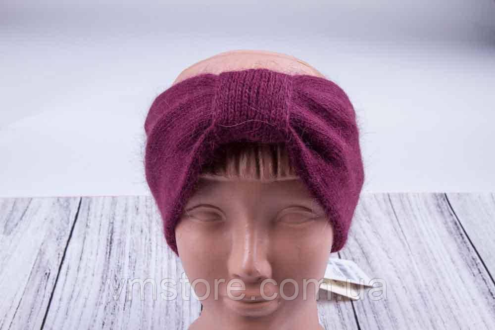 Повязка на голову, теплая повязка для волос, повязка из ангоры