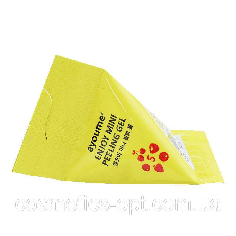 Пилинг-гель с фруктовыми кислотами Ayoume Enjoy Mini Peeling Gel, 3 g