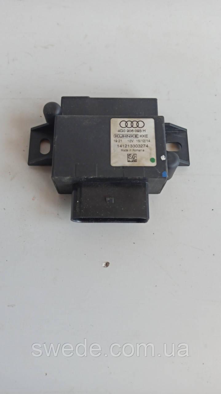 Блок управления топливным насосом Audi A6 C7 3.0 TDI 2015 гг 4G0906093H