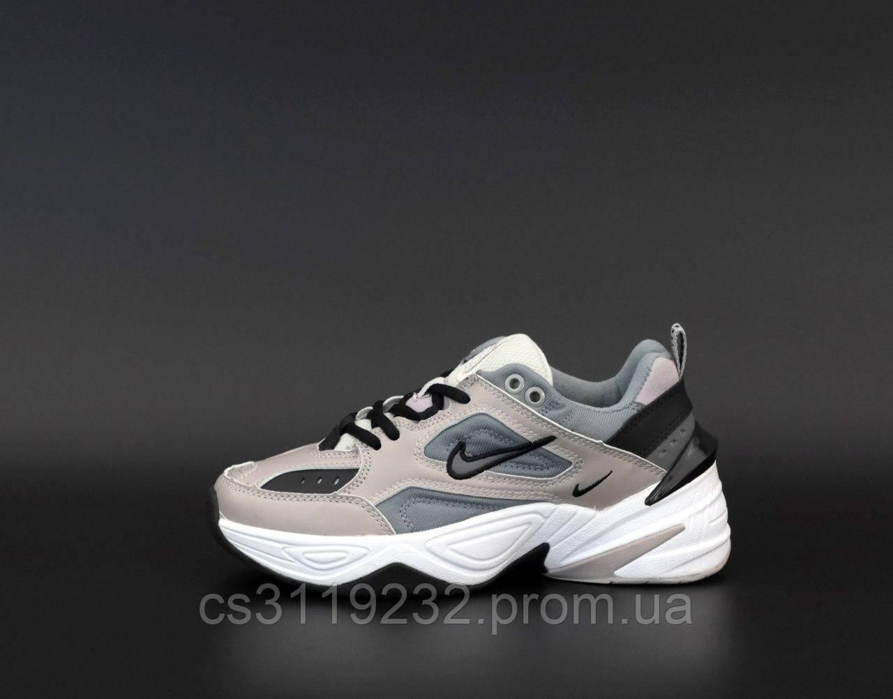 Женские кроссовки  Nike M2K Tekno (серые)