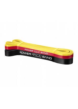 Эспандер-петля (резинка для фитнеса и спорта) 4FIZJO Power Band 3 шт 2-17 кг 4FJ0062, фото 2