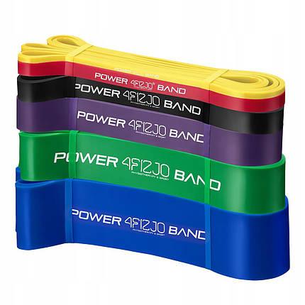 Эспандер-петля (резинка для фитнеса и спорта) 4FIZJO Power Band 6 шт 2-46 кг 4FJ0064, фото 2
