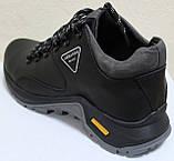 Ботинки осенние мужские кожаные от производителя модель АН220, фото 4