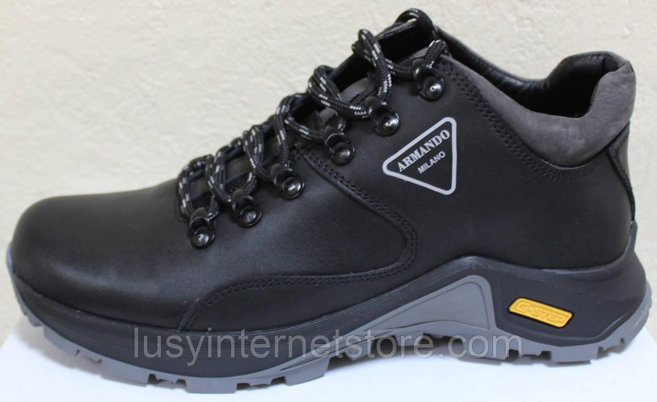 Ботинки осенние мужские кожаные от производителя модель АН220