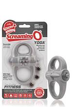 Эрекционное кольцо для пениса с вибропулей Screaming O Yoga Ring - Love&Life
