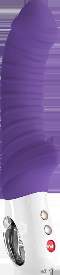 Вибратор со стимуляцией клитора Tiger G5 Fun Factory фиолетовый - Бесплатная доставка!