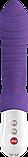 Вибратор со стимуляцией клитора Tiger G5 Fun Factory фиолетовый - Бесплатная доставка!, фото 3