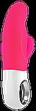 Вибратор со стимуляцией клитора Miss Bi Fun Factory розовый, фото 3