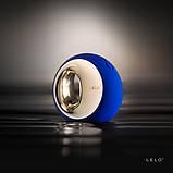 Клиторальный вибратор Lelo Ora Midnight Blue (Лело) платинум силикон на аккумуляторе, фото 3