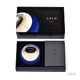 Клиторальный вибратор Lelo Ora Midnight Blue (Лело) платинум силикон на аккумуляторе, фото 4