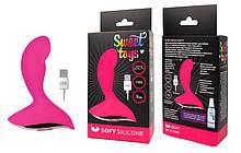 Анальный вибратор Sweet Toys L 90 мм D 30 мм ярко-розовый - Бесплатная доставка!