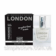 Духи с феромонами для мужчин HOT LONDON - Бесплатная доставка!