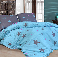 Комплект постельного белья Цветные Звезды Селена Бязь Люкс Полуторный