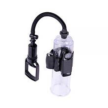 Вакуумная помпа на пенис с вибрацией Vibration Accu-Meter Power Pump X4 - Бесплатная доставка!