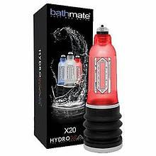 Гидронасос для увеличения пениса Bathmate (Басмейт) Hydromax 5 красная (X20) для члена 7.5-12.5 см -