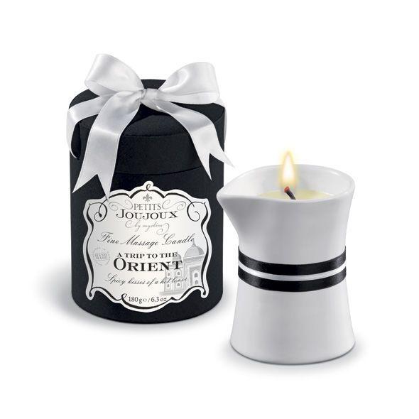 Свеча для массажа с запахом белого перца и граната Petits Joujoux Orient 190 г - Love&Life
