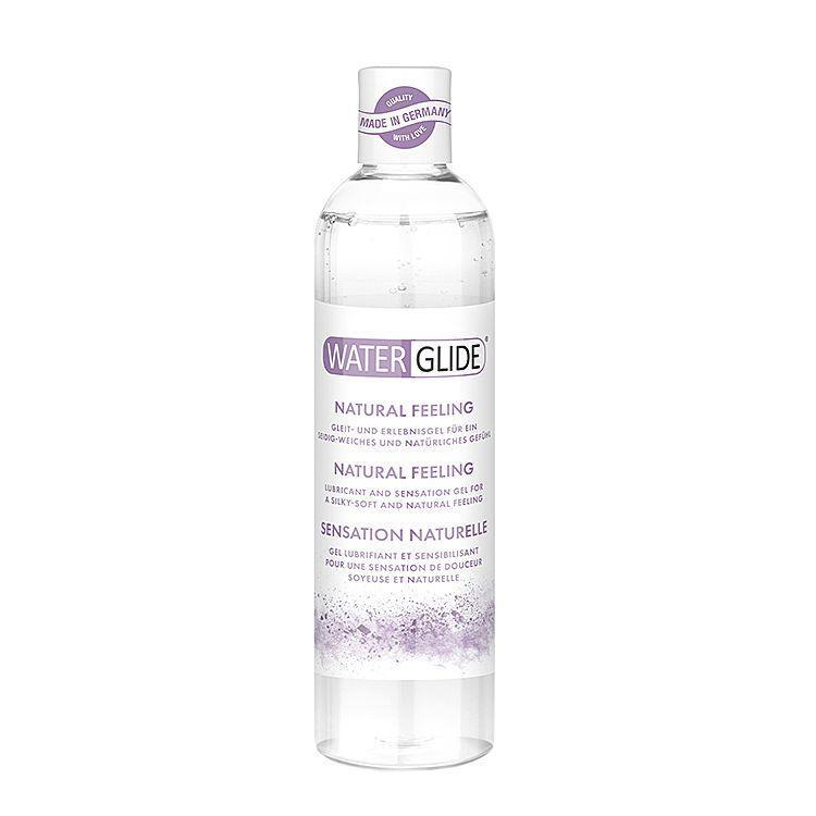 Лубрикант универсальный на водной основе без запаха и вкусаWater Glide NATURAL FEELING 300 мл