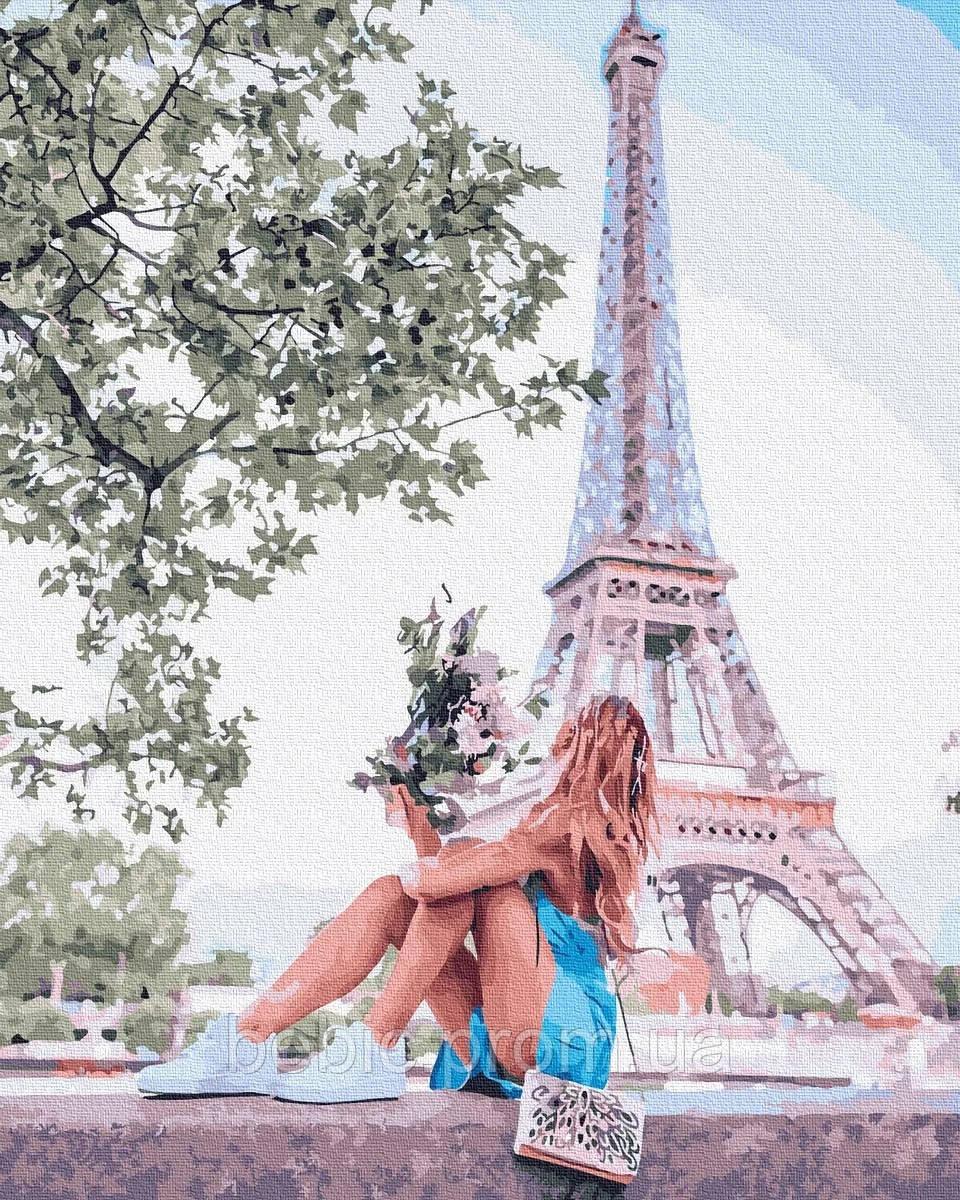 "Картина по номерам ""Летний Париж"" 40*50 см"