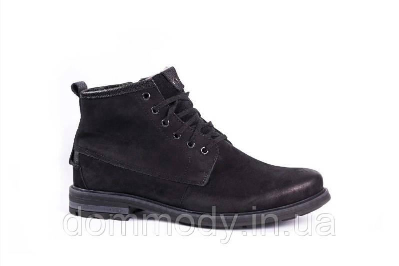 Ботинки мужские черного цвета Youth shoes зимние